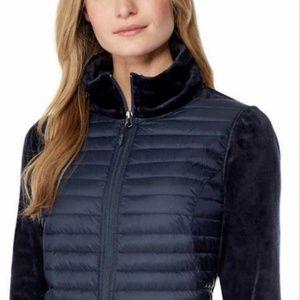 32 Degrees Jackets & Coats - 32 Degrees Ladies' Mixed Media Plush Jacket Women